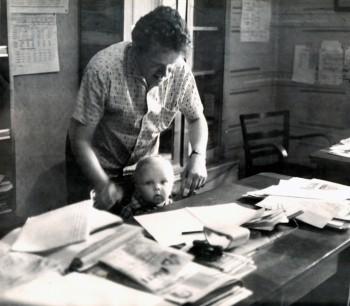 Леонід Годований з сином
