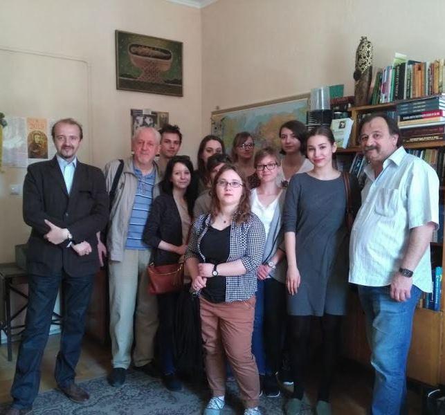 У «Ґражді» відновив роботу Науково-мистецький клуб ім. Василя Довговича