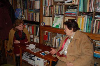 """Пані Марія з подивом довідалася про видання творів своєї родачки Ірини Невицької в """"Ґражді"""". Думала, що про неї давно забули..."""