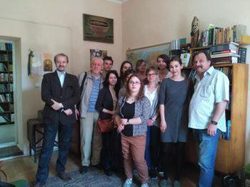 Студенти з Вроцлава у Ґражді